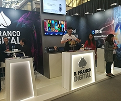 Gran acogida de R. Franco Digital en iGaming Super Show 2017