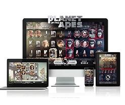 NetEnt muestra su marca  remium con el lanzamiento del juego de tragamonedas Planet of the Apes