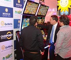 Merkur Gaming tomó su lugar en G2E como expositor líder